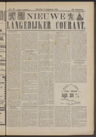 Nieuwe Langedijker Courant 1921-08-02