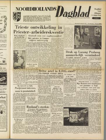 Noordhollands Dagblad : dagblad voor Alkmaar en omgeving 1954-02-23
