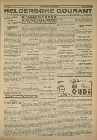 Heldersche Courant 1930-01-16