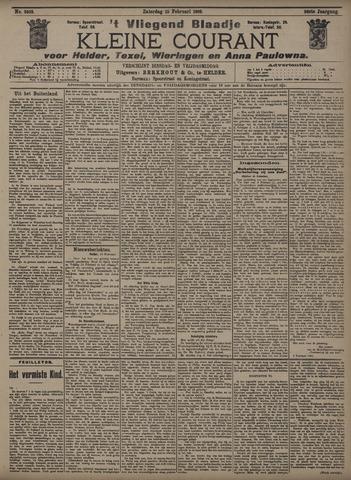 Vliegend blaadje : nieuws- en advertentiebode voor Den Helder 1908-02-15