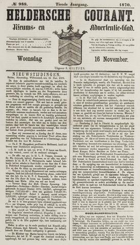 Heldersche Courant 1870-11-16