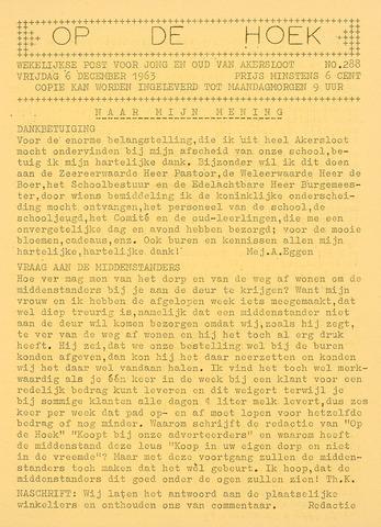 Op De Hoek, weekblad voor Akersloot 1963-12-06