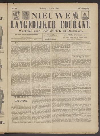 Nieuwe Langedijker Courant 1895-04-07