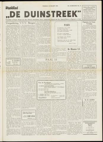 De Duinstreek 1956-03-30