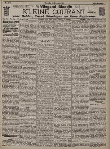 Vliegend blaadje : nieuws- en advertentiebode voor Den Helder 1910-12-14