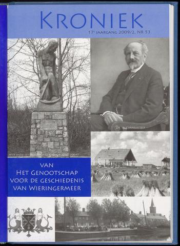 Kroniek Historisch Genootschap Wieringermeer 2009-08-01