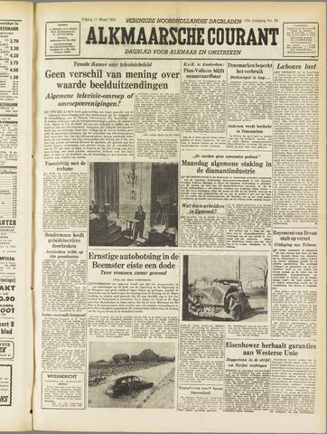 Alkmaarsche Courant 1955-03-11