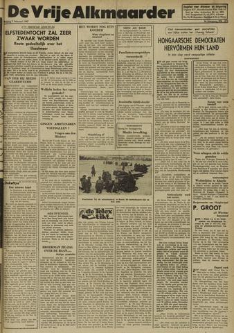 De Vrije Alkmaarder 1947-02-07