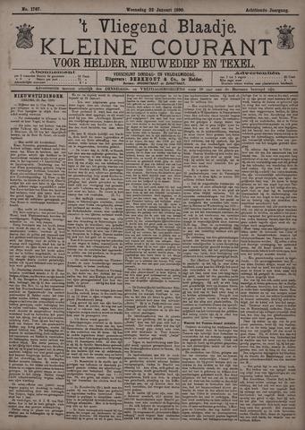 Vliegend blaadje : nieuws- en advertentiebode voor Den Helder 1890-01-22
