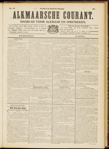 Alkmaarsche Courant 1911-04-27