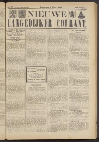 Nieuwe Langedijker Courant 1923-03-01