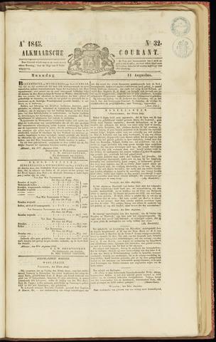 Alkmaarsche Courant 1845-08-11