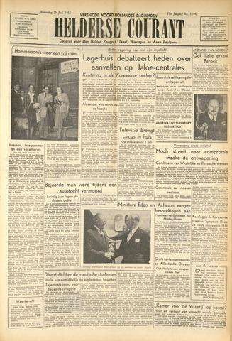Heldersche Courant 1952-06-25