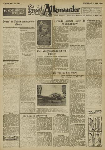 De Vrije Alkmaarder 1949-01-19