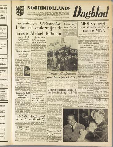 Noordhollands Dagblad : dagblad voor Alkmaar en omgeving 1960-11-28