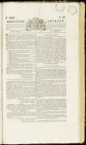 Alkmaarsche Courant 1842-09-12
