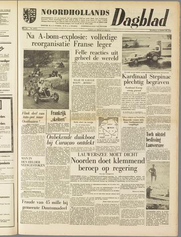 Noordhollands Dagblad : dagblad voor Alkmaar en omgeving 1960-02-15