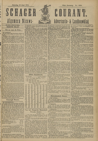 Schager Courant 1911-06-10