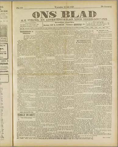 Ons Blad : katholiek nieuwsblad voor N-H 1920-07-14