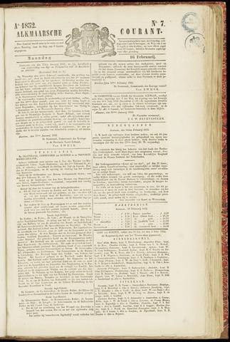 Alkmaarsche Courant 1852-02-16