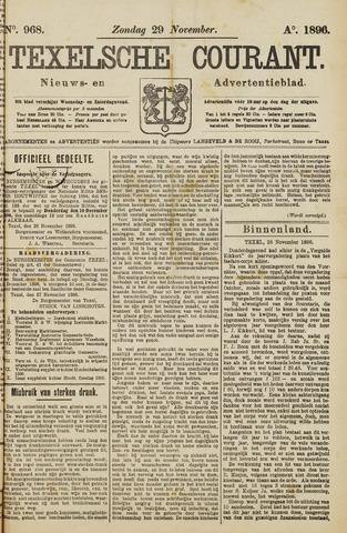 Texelsche Courant 1896-11-29
