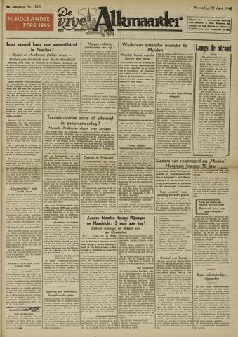 De Vrije Alkmaarder 1948-04-28