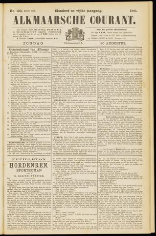 Alkmaarsche Courant 1903-08-30