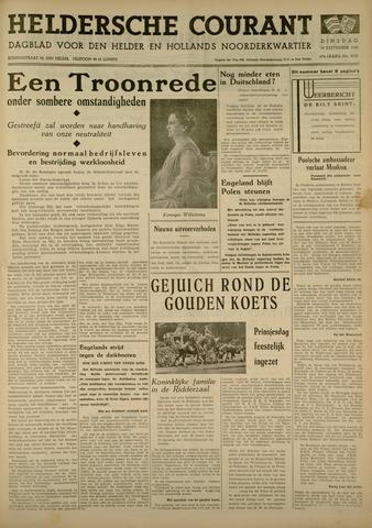 Heldersche Courant 1939-09-19