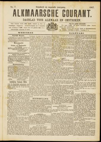 Alkmaarsche Courant 1907-01-09