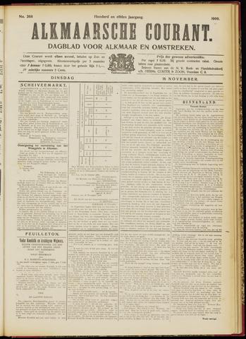 Alkmaarsche Courant 1909-11-16