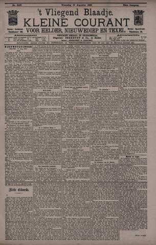 Vliegend blaadje : nieuws- en advertentiebode voor Den Helder 1896-08-19