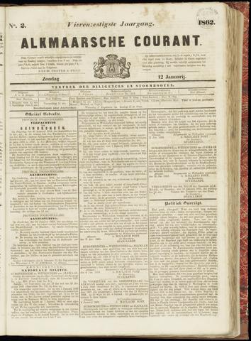 Alkmaarsche Courant 1862-01-12