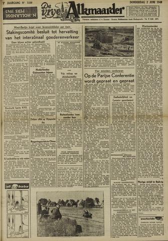 De Vrije Alkmaarder 1949-06-02