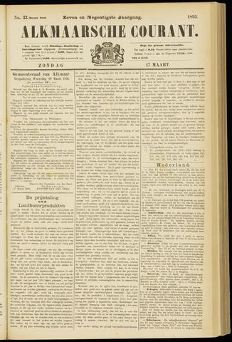 Alkmaarsche Courant 1895-03-17