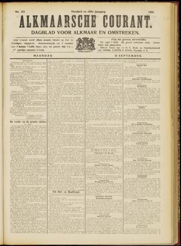 Alkmaarsche Courant 1909-09-13