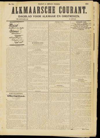 Alkmaarsche Courant 1913-07-02