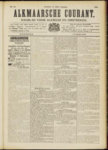 Alkmaarsche Courant 1909-02-03