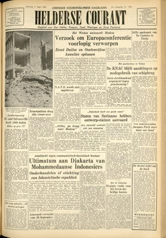 Heldersche Courant 1954-09-11
