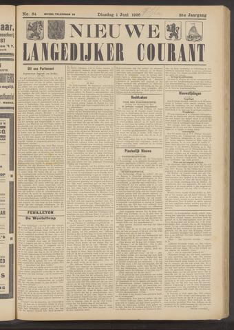 Nieuwe Langedijker Courant 1926-06-01