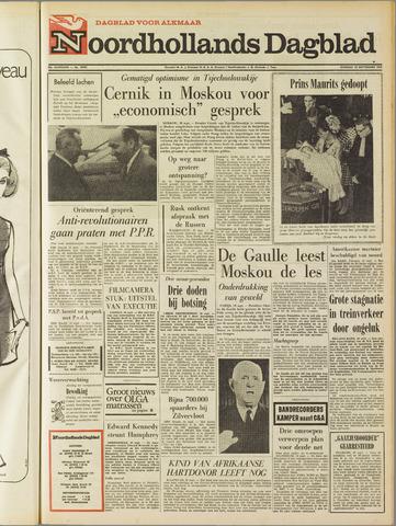 Noordhollands Dagblad : dagblad voor Alkmaar en omgeving 1968-09-10