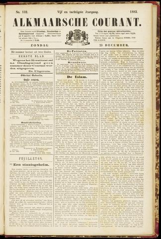 Alkmaarsche Courant 1883-12-23