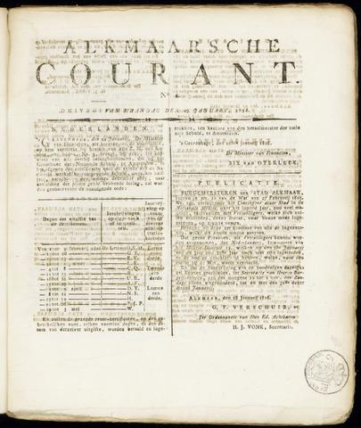 Alkmaarsche Courant 1816-01-29