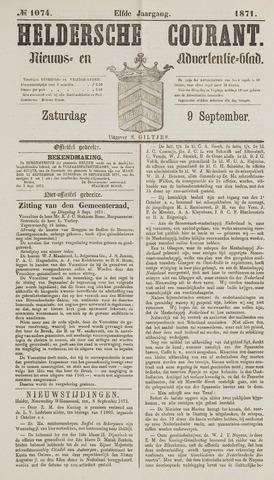 Heldersche Courant 1871-09-09