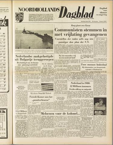 Noordhollands Dagblad : dagblad voor Alkmaar en omgeving 1953-06-06