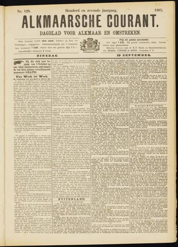 Alkmaarsche Courant 1905-09-19