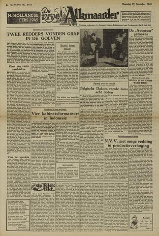 De Vrije Alkmaarder 1949-12-19