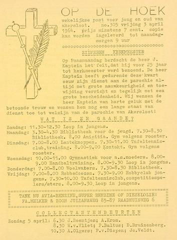 Op De Hoek, weekblad voor Akersloot 1964-04-03