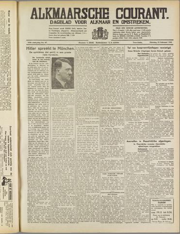 Alkmaarsche Courant 1941-02-25