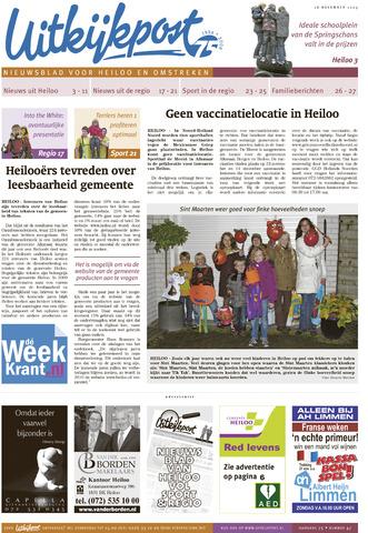 Uitkijkpost : nieuwsblad voor Heiloo e.o. 2009-11-18