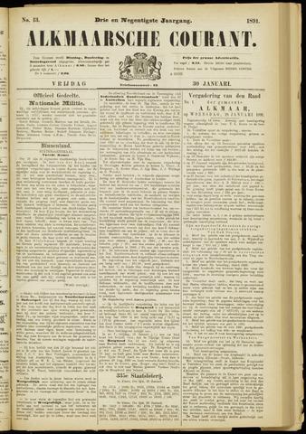 Alkmaarsche Courant 1891-01-30